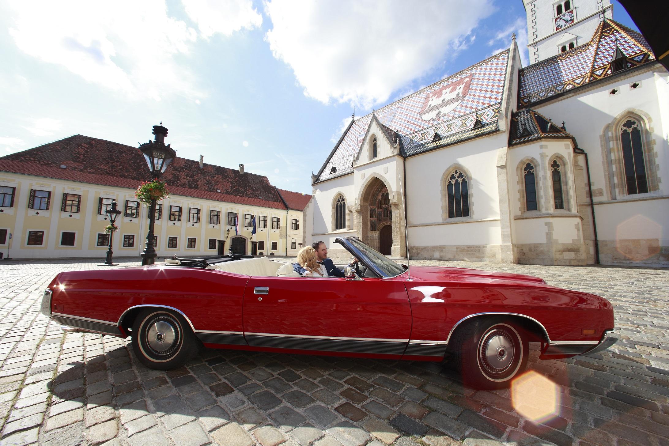 Ford LTD Convertible | Limousine services in Croatia | Car Rental ...
