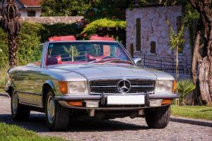 Mercedes benz SL 450 1972 limousine antropoti oldtimer cars oldtajmer automobili najam oldtajmera (1)