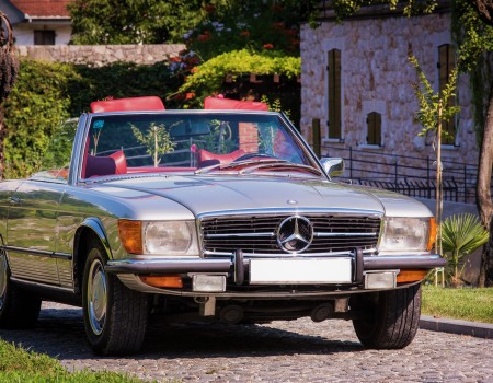 Mercedes benz SL 450