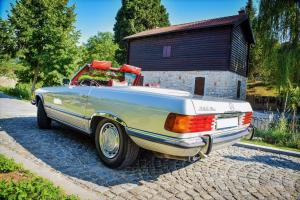 Mercedes benz SL 450 1972 limousine antropoti oldtimer cars oldtajmer automobili najam oldtajmera (2)