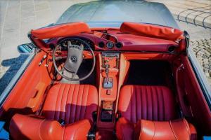 Mercedes benz SL 450 1972 limousine antropoti oldtimer cars oldtajmer automobili najam oldtajmera (4)
