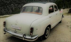 oldtimer cars mercedes benz 1958 wedding cars antropoti concierge weddings in croatia 1024 1